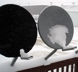 Dish Hoodie Satellite Dish Cover